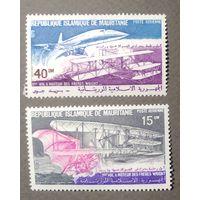 Мавритания\65м\ авиация, 1979 первый полет братьев Райт. MNH