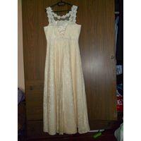 Платье белое. новое