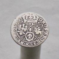 6 грошей 1667 Ян II Казимир Ваза