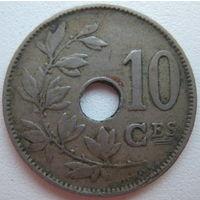 Бельгия 10 сантимов 1921 г. (d)