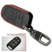 Кожаный чехол для автомобильного ключа