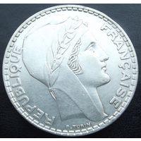 Франция. 20 франков 1937. Серебро