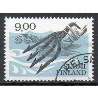 Защита природы Финляндия 1984 год серия из 1 марки