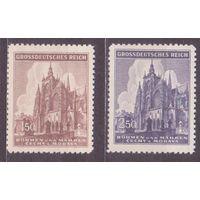 2-я Мировая Война Архитектура Религия Соборы Оккупация 1944 Богемия и Моравия Германия Рейх **(СЛ)