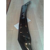 Дефлектор (мухоотбойник) капота (Черный) СА-пластик/Mitsubishi ASX.2010-