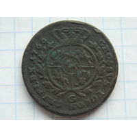 3 гроша 1766 г.САП. С 1 рубля без М.Ц.