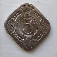 Нидерландские Антильские острова 5 центов, 1970 1-2-11