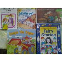 Книги для детей на немецком и английском языке. 5 штук. НЕДОРОГО!Цена за 5 штук.