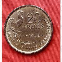 16-25 Франция, 20 франков 1952 г.
