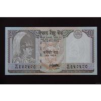 Непал 10 рупий 1995 UNC