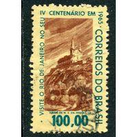 Бразилия. 400 лет Рио де Жанейро. Церковь на горе