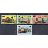 [1964] Фиджи 1976. Поезда,локомотивы.