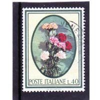 Италия. Ми-1207. Цветы. 1966.
