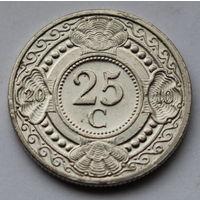 Нидерландские Антильские острова, 25 центов 2010 г.