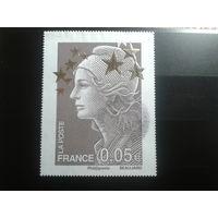 Франция 2012 стандарт 0,05, марка из блока