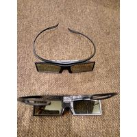 Активные 3D очки Samsung SSG-4100GB 2шт без батареек