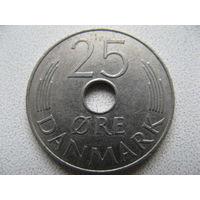 Дания 25 эре 1979 г.