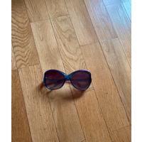 Крупные солнцезащитные очки Mango, хамелеоны