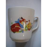 Чашка чайно-кофейная с колобком 80-е гг