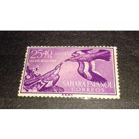 Испанская Сахара 1958 Фауна Птицы чистая марка
