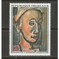 1971 Франция Живопись
