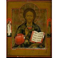 Икона Господь Вседержитель. 19 век. Супер.