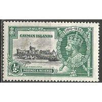 Кайманы. Король Георг V. 25 лет на троне. 1935г. Mi#111.
