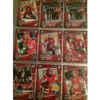 Хоккейные карточки. 22 штуки. КХЛ. Матч Звёзд 2011.