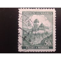 Рейх протекторат 1939 г. Карлштейн