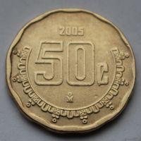 Мексика, 50 сентаво 2005 г