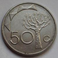 Намибия, 50 центов 2008 г