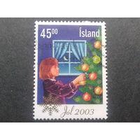 Исландия 2003 Рождество