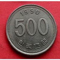 05-35 Южная Корея, 500 вон 1990 г.