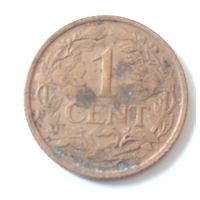 Кюрасао, 1 цент, 1947 г.