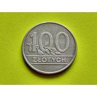 Польша. 100 злотых 1990.
