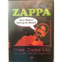 DVD FRANK ZAPPA live