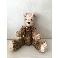 Медведь. Медвежонок. Ватная игрушка. Старинный медвежонок. Игрушка СССР.