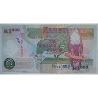 Замбия 1000 квача 2005 г. (g)