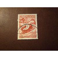 """Гренландия 1966 г.Сказка """"Мальчик и лисица""""."""