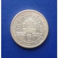 Австрия 50 евроцентов 2010