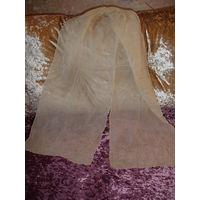Платок шаль женская 70-80 гг размер 33 см х 175 см