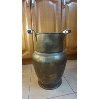 Напольная латунная ваза Голландия,выс . 42 см