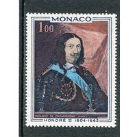 Монако. Оноре II, князь Монако. Живопись