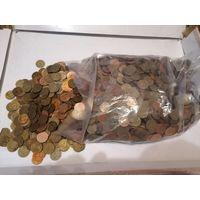 10 кг монет по 3 копейки СССР
