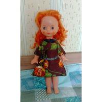 Кукла ссср с рыжими волосами
