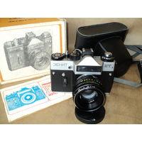 Фотоаппарат Зенит ЕТ с объективом Гелиос, 1986 год