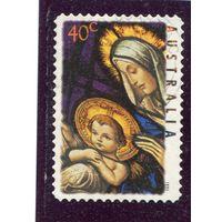 Австралия. Рождество 1995, самоклейка