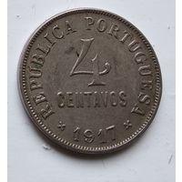 Португалия 4 сентаво, 1917 4-8-16