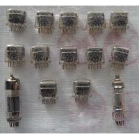 Газоразрядные индикаторы ИН-12А и 12Б и др.2 лампы