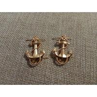 Якоря на погончики курсанта ВМФ СССР, цена за комплект